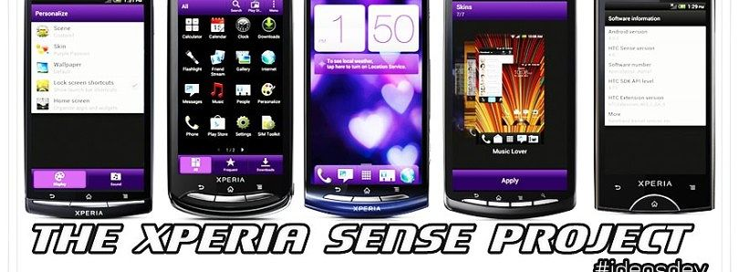 Sense 4 Ported to Sony Xperia Devices