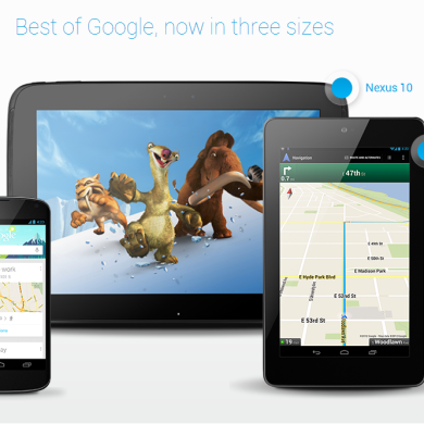 Google Nexus 4, 10 Announced; Forums Created!