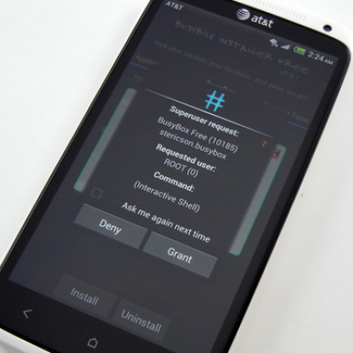 AT&T HTC One X Gets Root for 2.20 Firmware