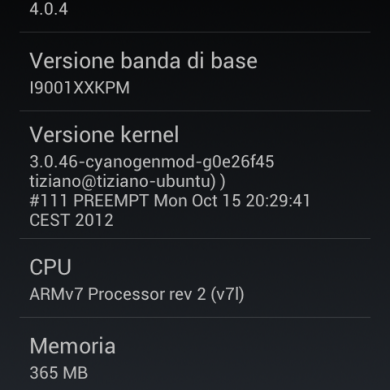3.0.x Kernel Released for the Samsung Galaxy S Plus
