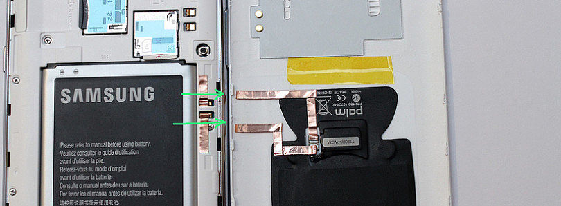 Galaxy Note II Wireless Charging Gets a No Solder Method