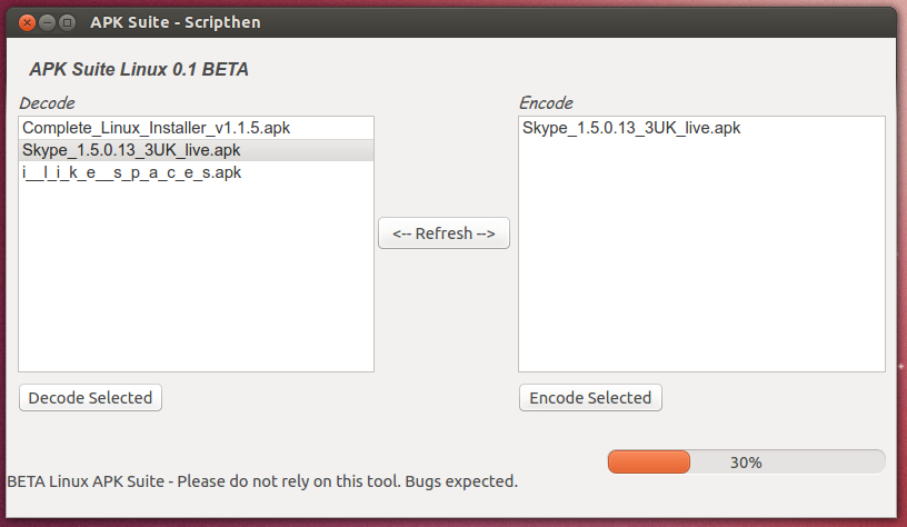 APK Suite for Linux Offers GUI-Based APK Editing