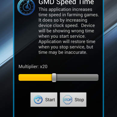Speed Up Game Clock Times with GMD Speed Time