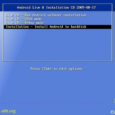 Android x86 Tutorial Helps You Load Android on your PC