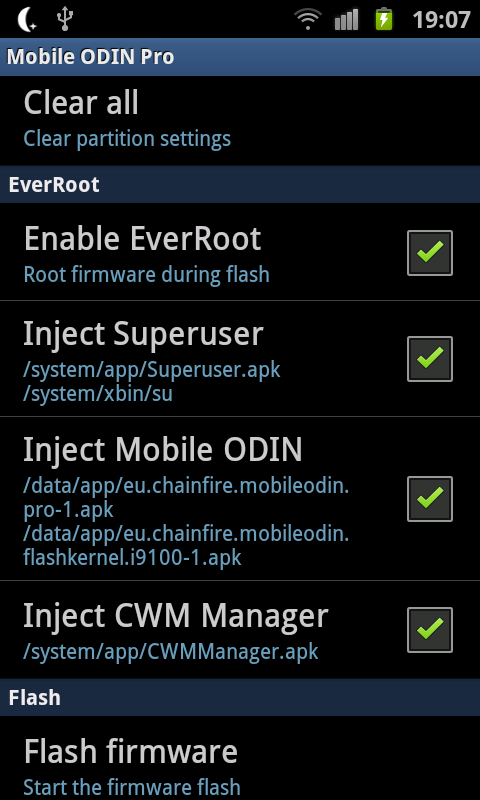Mobile Odin Updated to Version 3 5