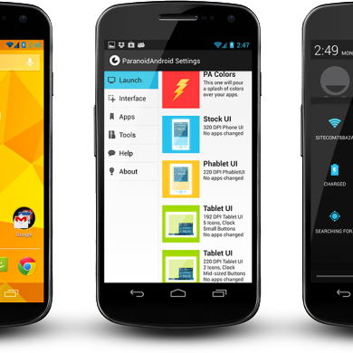 ParanoidAndroid Released for the Nexus 10