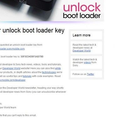 Sony Now Allowing Verizon Xperia Play Bootloader Unlock