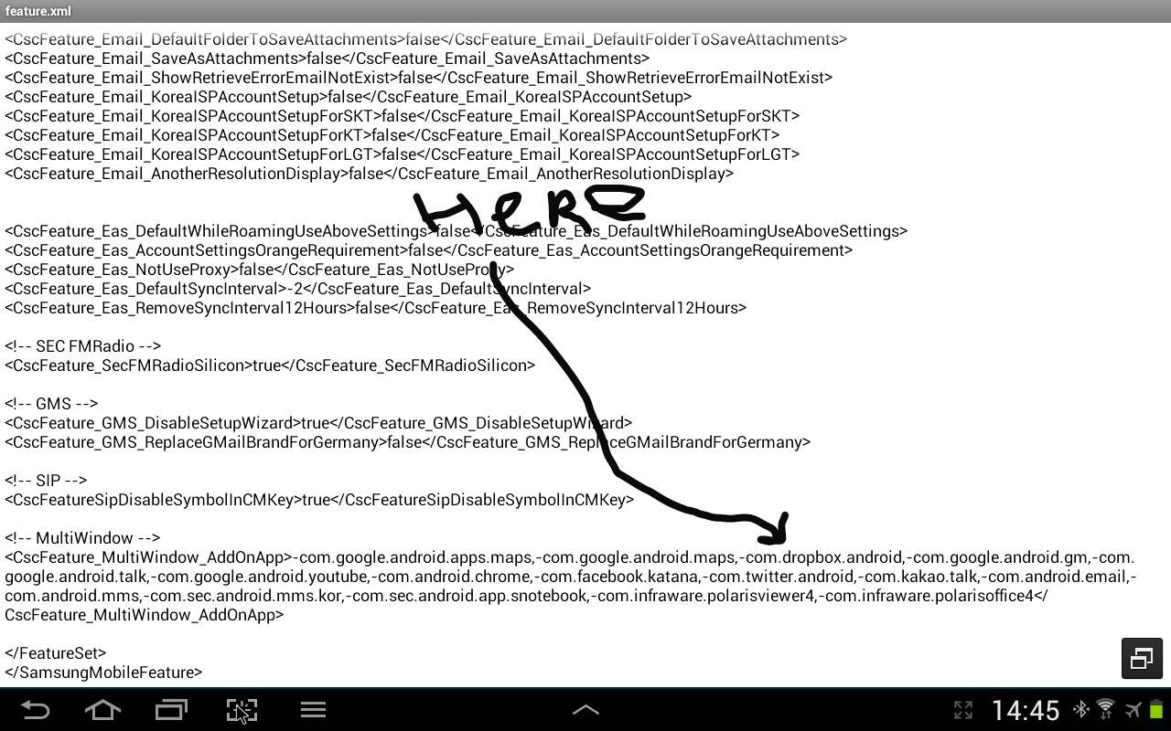 Enable Multi Window For Apps on Galaxy Note 10 1 With CSC
