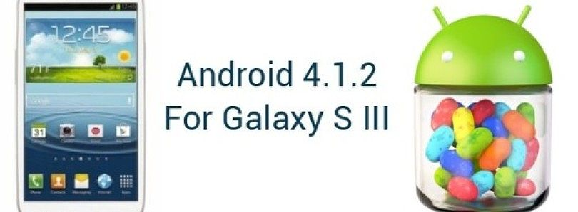 Official Android 4 1 2 for the International Galaxy S III Brings