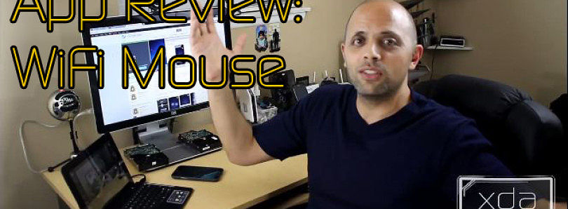 App Review: Control Your Computer with Wi-Fi Mouse – XDA Developer TV