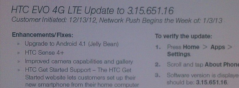 EVO 4G LTE Owners: Get Your Official JB Update Now