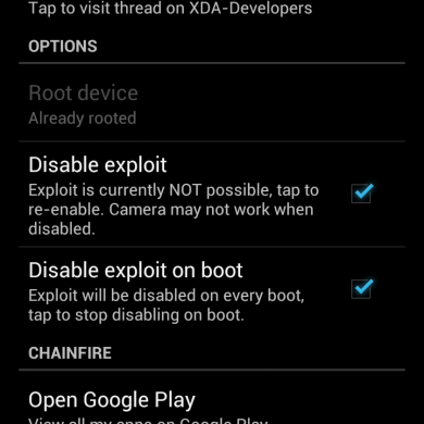 Dangerous Exynos 4 Security Hole Demoed and Plugged by Chainfire