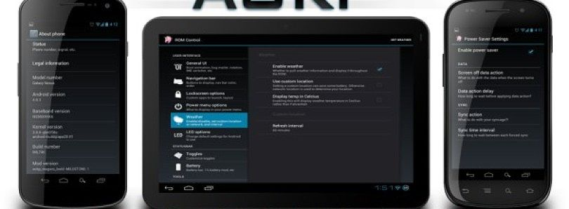 Jelly Bean 4.2.1-Based AOKP Available for Nexus Devices
