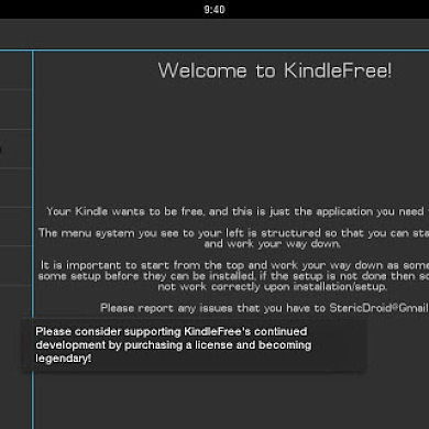 KindleFree Puts a 3rd Party Launcher and Google Play Store on Kindle Fire HD