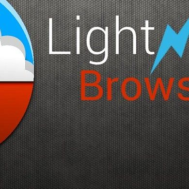 Lightning Browser for Tablets Gives Great Performance and a Small Footprint