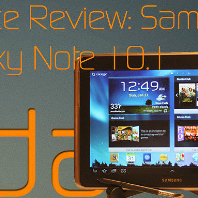 Device Review: Samsung Galaxy Note 10.1