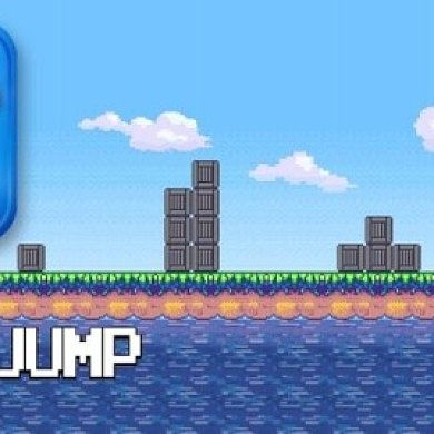 Retro-Styled Jumping Fun with Sheep Jump: 8-Bit