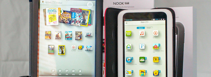 Unofficial CM10.1 for the Nook HD+ and Samsung Galaxy Fit