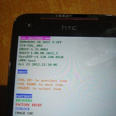 FacePalm S-Off for HTC One S, One XL, and Droid DNA