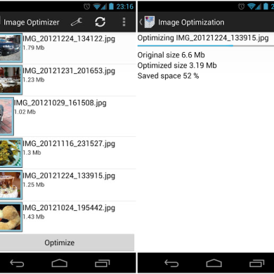 Save Space with Image Optimizer