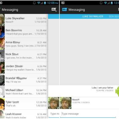 Sliding Messaging Brings Intuitiveness and Customization