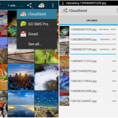 Cloudsend Introduces New UI with Update