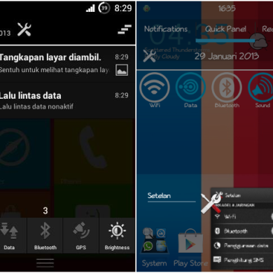 Statusbar Toggles for the Sony Xperia J, Tipo, and Miro