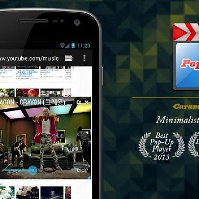 Enjoy Your Videos on Top of Other Apps with Popcorn Player