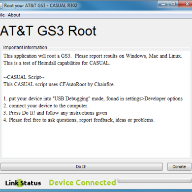 Root Your AT&T Samsung Galaxy S III with Ease using CASUAL