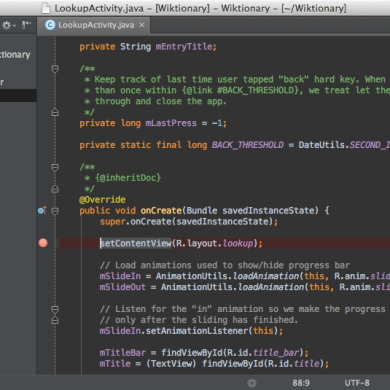 Alternative IDE for Android Application Developers