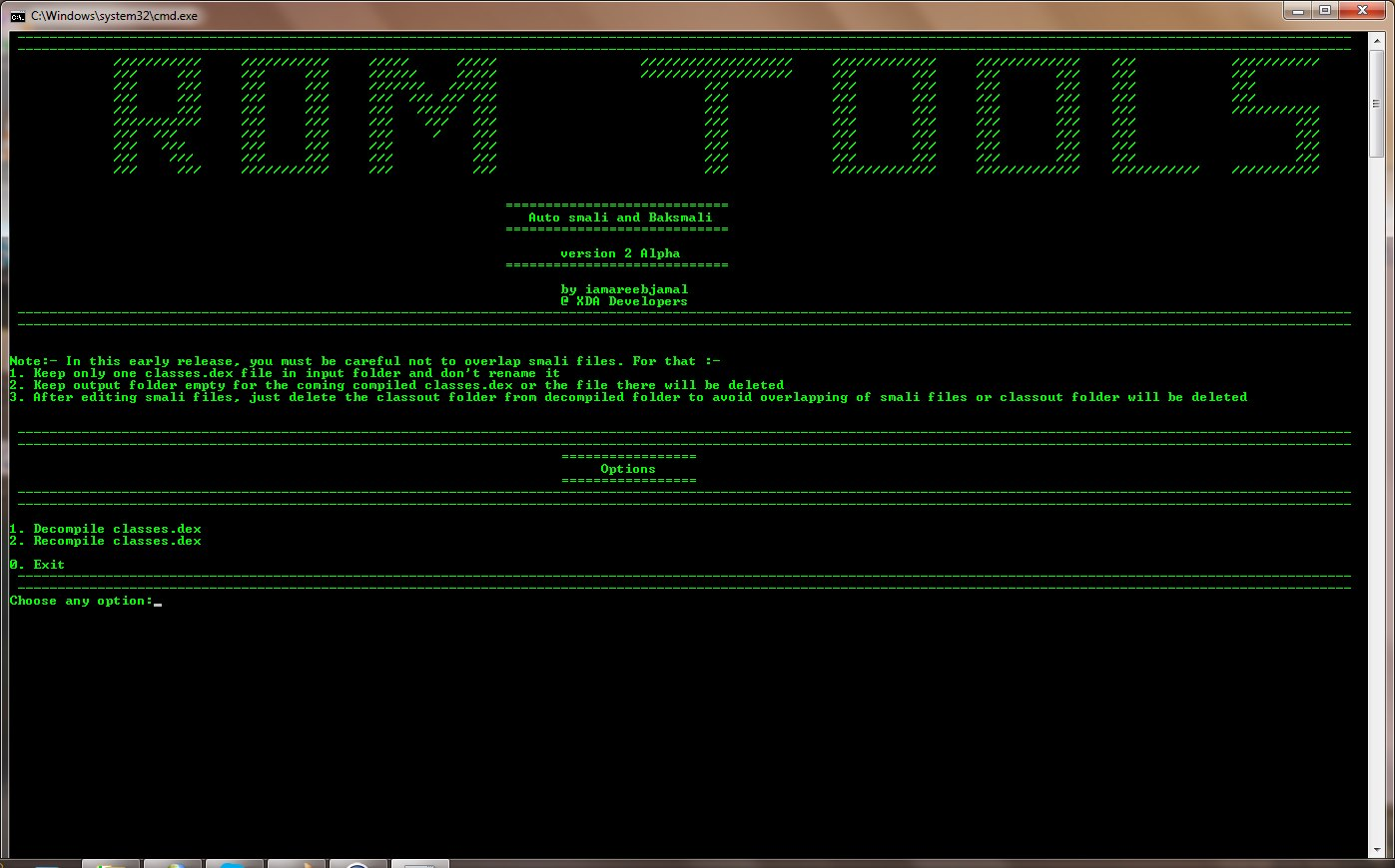 decompile and recompile apk linux