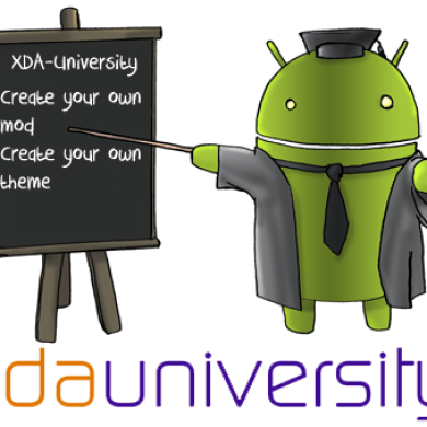 XDA University: Add Beginner Modifications and Themes to Your Own ROM