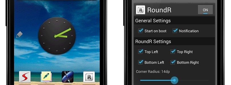 Rounded Corners for Your Android Device's Screen