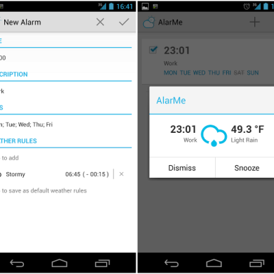 Wake Up with AlarMe, the Weather-Based Alarm