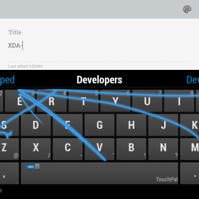 TouchPal Keyboard Launches Exclusive Beta on XDA