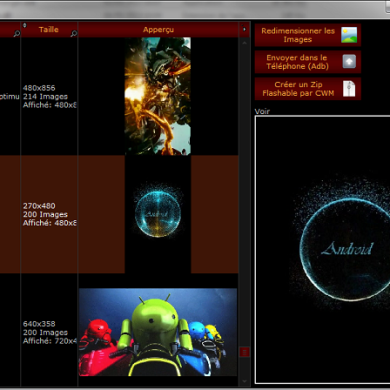 Boot Animation Paradise for your Android Device