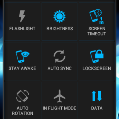 Serajr Power Toggles Brings Settings to the Small App World