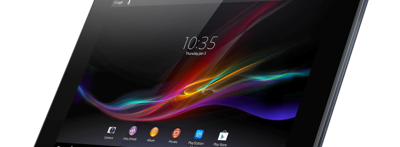 Sony Continues AOSP Initiative on the Tablet Z