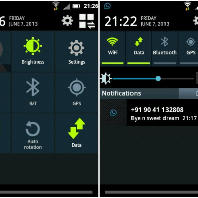 Get the Android 4.2.2 Status Bar on Your Gingerbread-Based Samsung