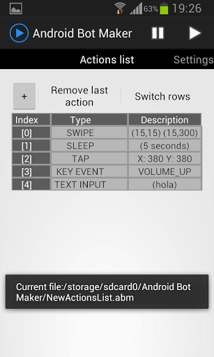 Record and Replay Touches and Swipes on Your Android Device