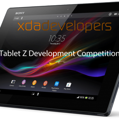 XDA Tablet Z Competition Winners Announced!