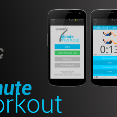 Get Fit with Scientific 7 Minute Workout