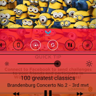 iOS7 Control Center Clone for Android