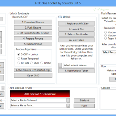 All-in-One Toolkit for the HTC One