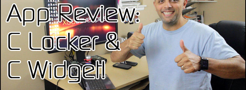 Android App Review: 'C' the Difference with C Locker and C Widget – XDA Developer TV