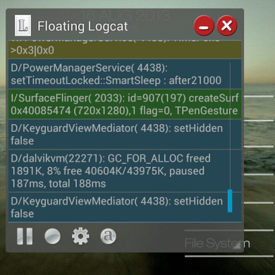 Take Logging to the Next Level with Logcat Extreme
