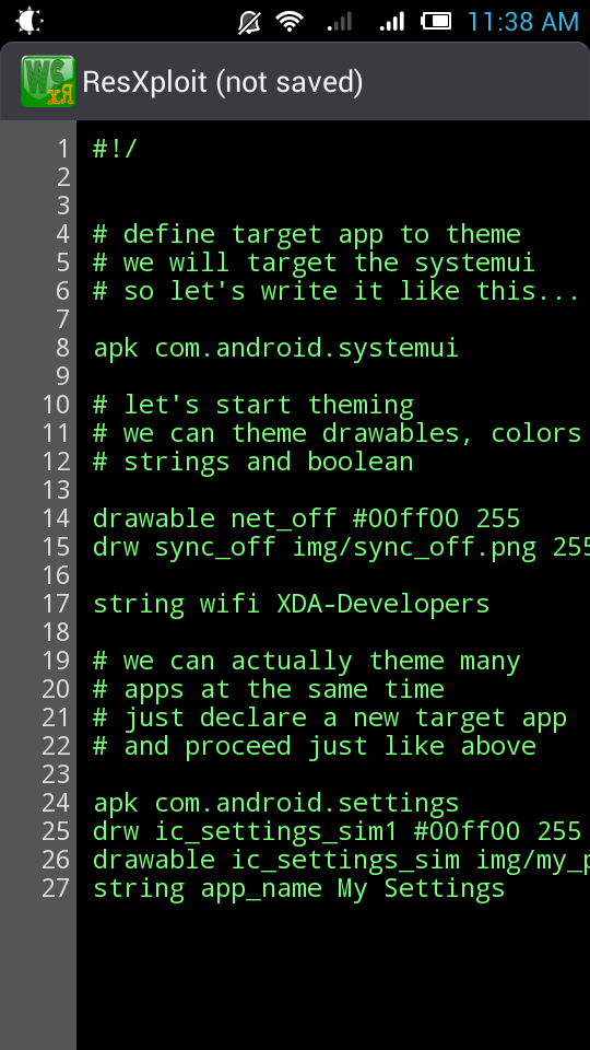 ResXploit Allows Theming without Decompiling APK Files