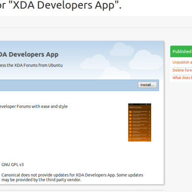 Click Packages and Unofficial XDA App Now Available for Ubuntu Touch
