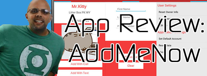 Android App Review: Add Your Contacts Now with AddMeNow – XDA Developer TV