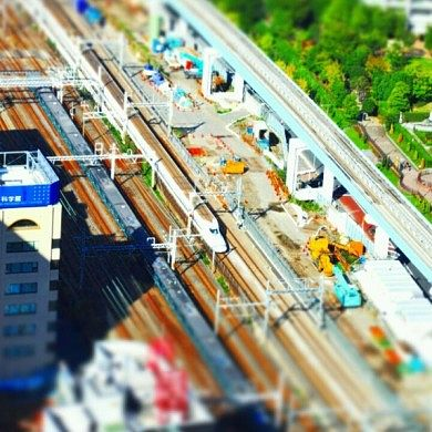 Simulate Tilt-Shift Photography with Miniature Preview Camera